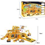 Игровой набор six-six-Zero Строительная площадка 660-A66 дорога паркинг станция