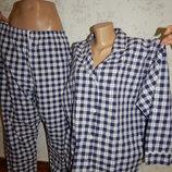 пижама котоновая рубашка со штанишками р16/18 полномерная