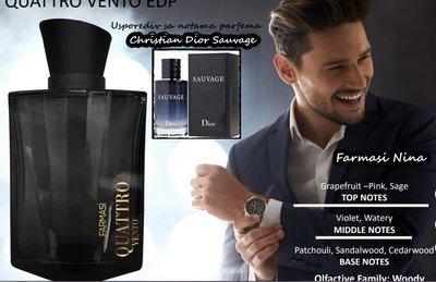 Мужская парфюмированная вода Quattro Vento EDP For Men Farmasi