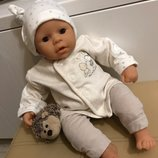 Милашный бедевый набор комплект одежды на куклу пупса Анабель, Шу-Шу, беби борна 40-45 см