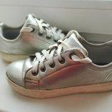 Серебряные кеды,для девочки.
