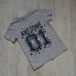 Стильная футболка на 4-5 лет