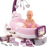 Smoby игровой центр по уходу за куклой с пупсом baby born baby nurse 220347
