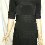 Платье черное размер м-л