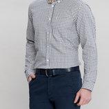 Мужская рубашка LC Waikiki / Лс Вайкики в сине-бежевую клетку