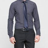 Мужская рубашка синяя LC Waikiki / Лс Вайкики в мелкую клетку