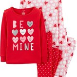 Новые пижамы на девочку 5Т, 7Т, 8Т, 10Т,12Т, 14Т от Carters, Сша