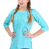 Женская льняная вышитая сорочка, вышиванка, блуза с вышивкой, р. 42-52