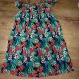 Плиссированное платье на 5 лет Matalan