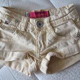 Американские стильные шорты Blue Rebel на возраст 4-5 лет