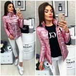 Женская куртка демисезонная плащевка синтепон 100 размер 42,44,46,48