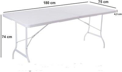 Стол, стіл, 180 см садовый раскладной туристический стол-чемодан. Польша. Ar.