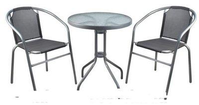 Набор садовой мебели стол 2 стула, мебель для балкона террасы. Польша. Ar.