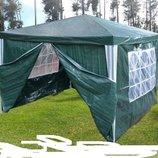 Садовый павильон, альтанка, шатер 3х3 4 стенки. Польша. Ar.
