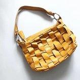 Яркая сумка nicoli натуральная кожа