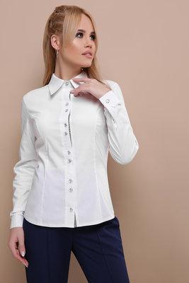 d00c97daaf4 Стильная белая блуза рубашка женская  385 грн - рубашки