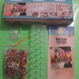 Набор для плетения резинками, Loom Bands Kit Резинки для творчества