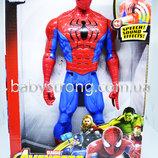 Фигурка Супер героя Человек Паук / Spider Марвел- Мстители Большая 30 См Свет, Музика Отличное К