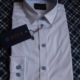 Рубашка белая INGVAR SLIM 4-7 лет