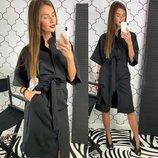 Платье - рубашка две расцветки 42-46