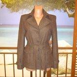 Пальто шерстяное в стиле миллитари р.8-10