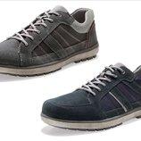 шикарные замшевые ботинки кроссовки Германия, новые