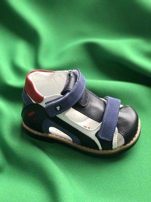 417bb1c65 Детские ортопедические босоножки для мальчика фирмы Перлина.: 1150 ...