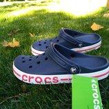 Мужские кроксы crocs bayaband clogs navy