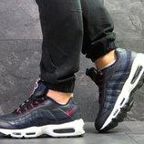 Кроссовки мужские Nike 95, синие 7077