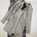 Кардиган жакет пиджак лён вискоза new look 14 размер