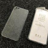 Чехол на iPhone 6 плюс / 6s плюс прозрачные силикон