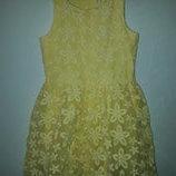 Нарядное платье Некст 10 лет