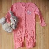 Фирменный человечек пижама слип early days 1,5-2 года состояние нового