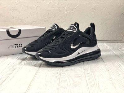 75a9877f Черно-Белые мужские кроссовки nike air max 720 41 42 43 44 45 размер ...
