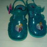 Босоножки сандалии мыльницы Frozen uk 5 р.22 13 см холодное сердце