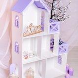 Домик для кукол Хит ,кукольный домик. Стеллаж для игрушек, для хранения игрушек