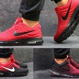 Кроссовки сетка Nike Air Max 2017 красные