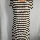 Красивое платье с оборками