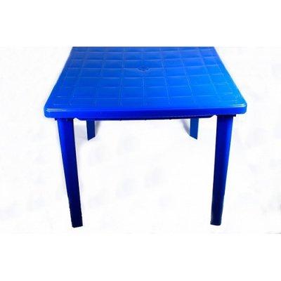 Стол пластиковый квадратный, размер 800х750 мм