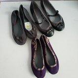 Качественные детские туфли/балетки французского бренда Dpam, 33,34,35