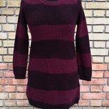 Женский свитер Burberry Brit, оригинал, хлопок, овечья шерсть, шелк.