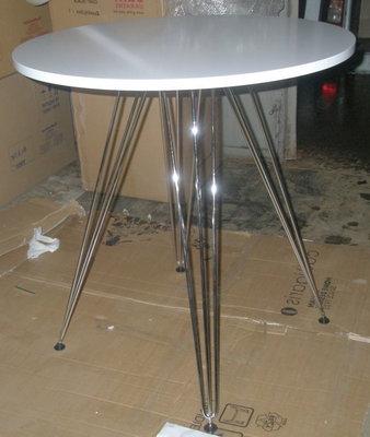 круглый стол Париж 80 см белый
