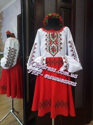 украинский костюм с вышивкой пошив подзаказ