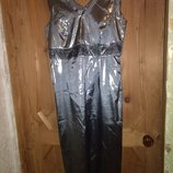 Праздничное платье металлик обмен