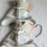 шапочки на флисе деткам от Lupilu