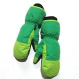 Теплые не промокаемые детские рукавицы на 6-8 лет