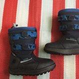Шикарные кожаные термо ботинки/сапоги Timberland /оригинал 26 р-р GoreTex