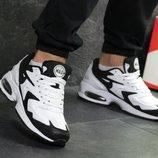 Топ Качество. Бесплатная доставка. Кроссовки Nike Air Max 2 Light черно-белые KS 841