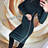 Платье-Гольф из ангоры Lurex