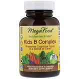 MegaFood, B комплекс для детей, 30 таблеток.